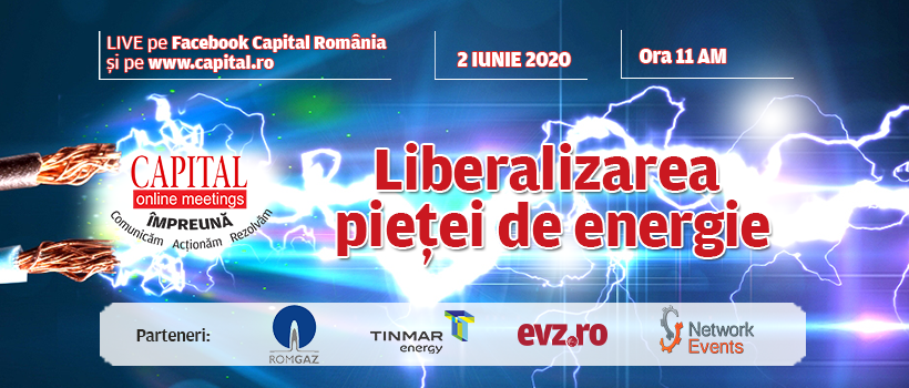 Capital Online Meetings – Liberalizarea pieței de energie