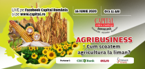 Capital Online Meetings – AGRIBUSINESS: Cum scoatem agricultura la liman?