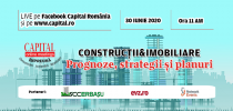 Capital Online Meetings – Construcții & Imobiliare: Prognoze, strategii și planuri